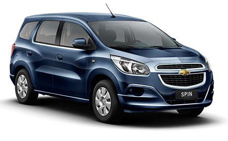 Chevrolet Spin 1 2l Lt Mt chevrolet spin lt plan 100 financiado en cuotas tu