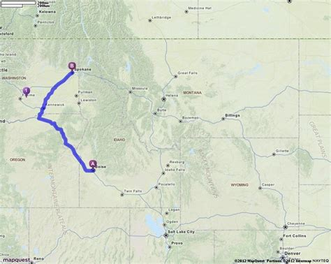 driving directions to rock boise driving directions from boise idaho to spokane