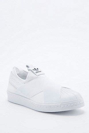 adidas superstar slip on trainer outfitters