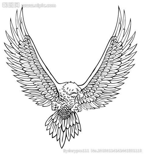 老鹰矢量图 鸟类 生物世界 矢量图库 昵图网nipic com
