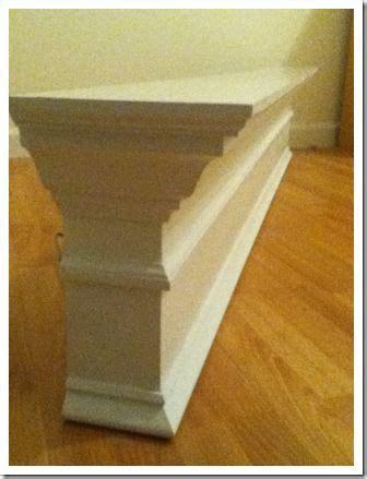 Make Your Own Mantel Shelf by Diy Your Own Mantel Shelf Plans Free