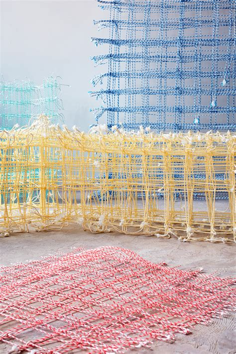 design academy eindhoven textile fransje gimbrere creates textile sculptures from natural
