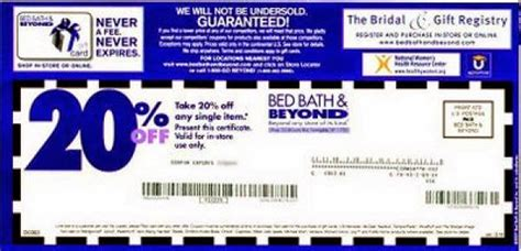 bed bath beyond online you must print this coupons to get a percentage of 20