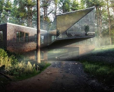 forest render best of week 01 2015 forest house by matus nedecky