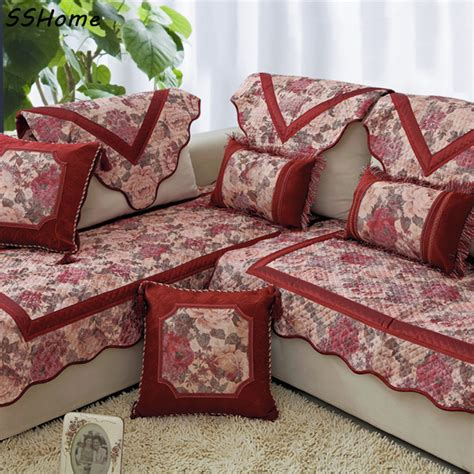 upholstery covers aliexpress com buy fashion sofa cushion quality solid