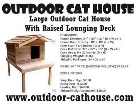 Outdoor Cat House Youtube Free Building Plans Outdoor Cat House