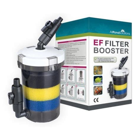 Canister 1 2l all pond solutions ef external filter booster