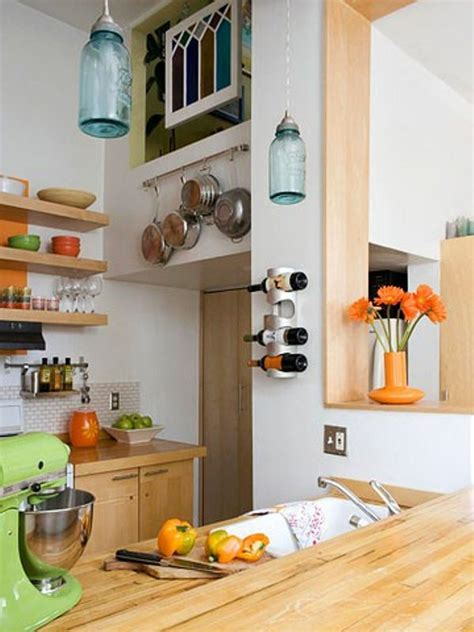 45 creative small kitchen design ideas digsdigs picture of creative small kitchen ideas