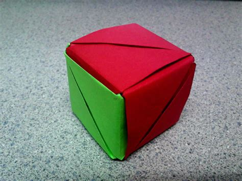 Magic Origami Cube - magic cube cube form by theorigamiarchitect on