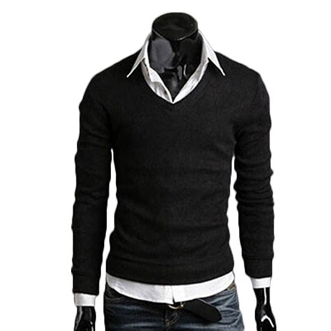H M Sweater New Arrival by 2015 New Arrival S Sleeved Cotton V Neck Sweater