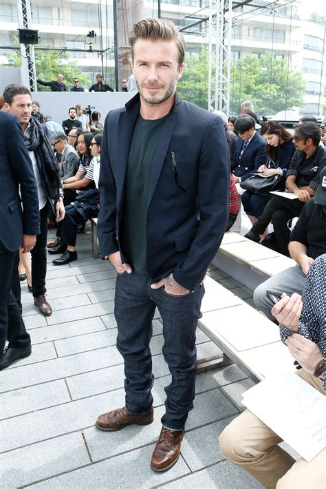 Sepatu Louis Vuitton Casual Navy photos david beckham la du d 233 fil 233 homme louis