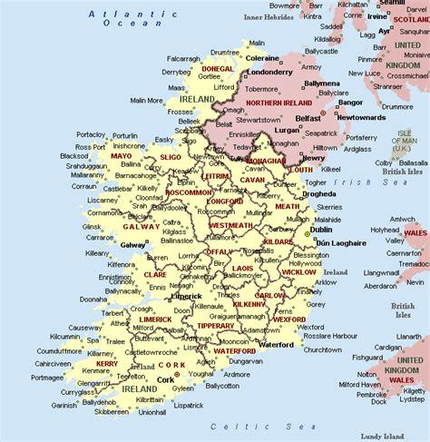 city map of ireland map of ireland 201 ire maps mapsof net