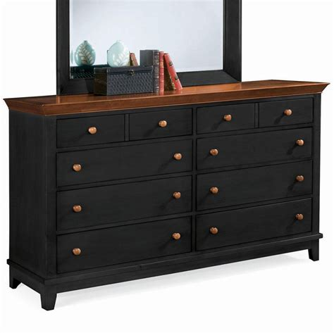 Black Bedroom Dressers Awesome Black Dressers On Bedroom Furniture Dressers Sterling Pointe Dresser Black Black