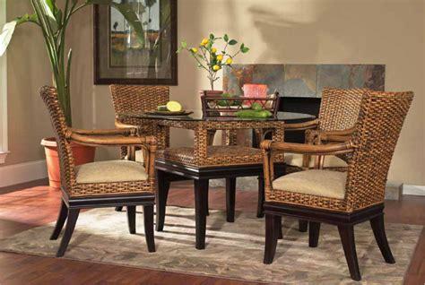 Kursi Gentong Dari Rotan aneka contoh desain kursi makan dari rotan