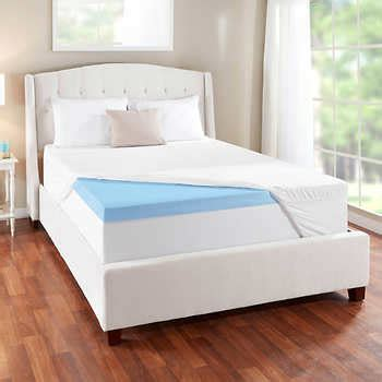 Novaform King Mattress Topper by Novaform 3 Evencor Gelplus Gel Memory Foam Mattress