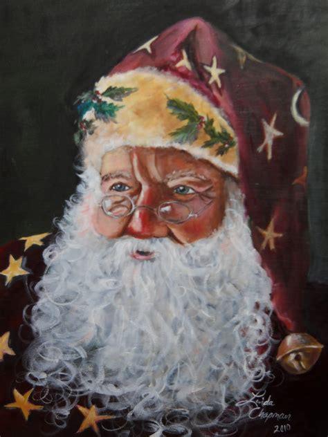 painting santa claus s journal santa paintings