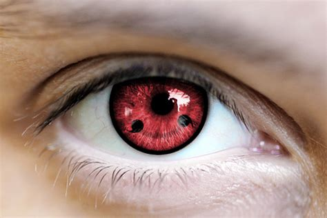 eye tattoo contacts what would you think of this eye tattoo sharingan pic