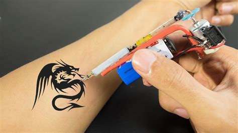 simple tattoo making how to make tattoo machine at home very easy and simple