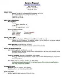 Create My Own Resume by Make Your Own Resume Free Sles Of Resumes