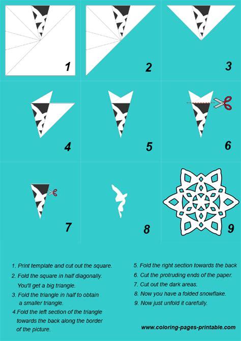 How To Make Paper Snowflake Patterns - paper snowflakes templates heel veel uit te printen