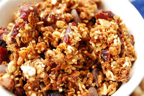 easy healthy granola recipe inergize with