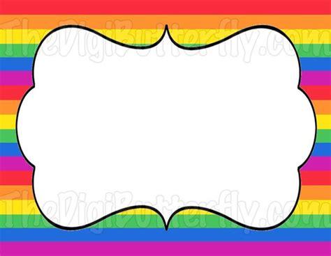 Blanko Etiketten by Blank Labels Rainbow Pinterest