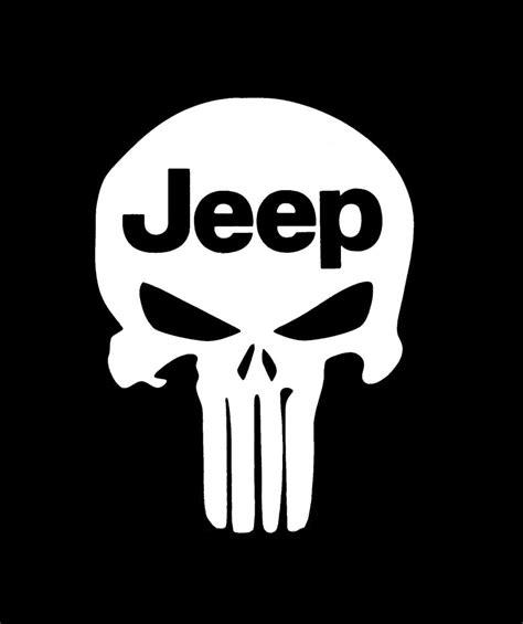 Punisher Jeep Decal Sticker Custom Sticker Shop