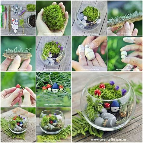 miniature gardening 2 0 a step by step guide on how to make your own miniature gardens books 17 best images about fish bowl gardens on