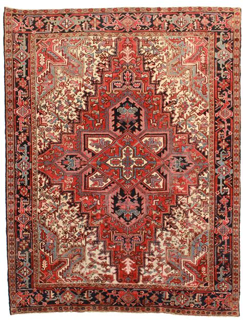 rug collections 7 x 9 vintage heriz rug 4356 exclusive rugs
