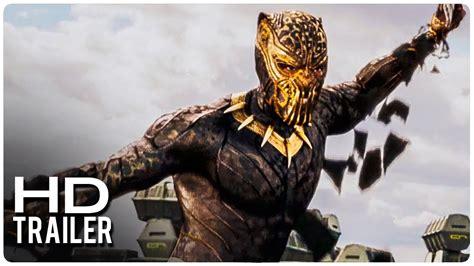 Pelcula Negra black panther quot pantera negra quot trailer 2 oficial