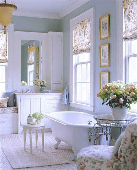 beautiful bathrooms pinterest fiori nella stanza da bagno shabby chic ecco qualche