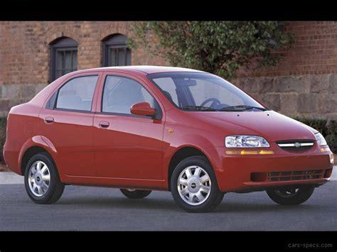 chevrolet aveo sedan specifications pictures prices
