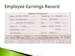 employee earnings record template payroll register in excel