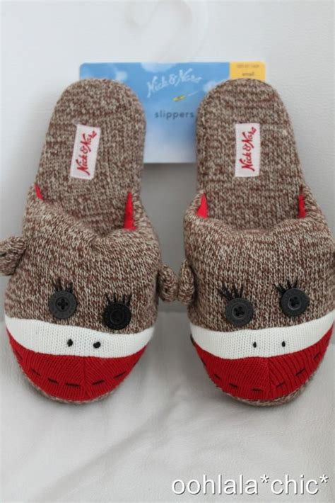 sock monkey house shoes cute sock monkey slippers