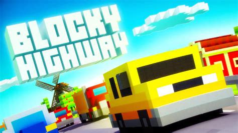descargar blocky roads full version apk blocky highway for android free download blocky highway