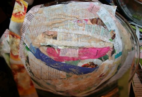 Make A Bowl Out Of Paper - how to make a diy recycled paper bowl inhabitots