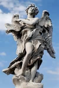 Angel Sculptures by Bensozia Bernini S Bridge Of Angels