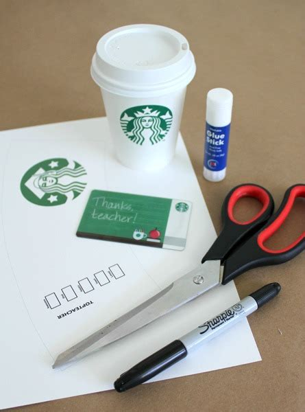 Starbucks Coffee Gift Card - 6 best images of printable starbucks coffee cups starbucks coffee gift card