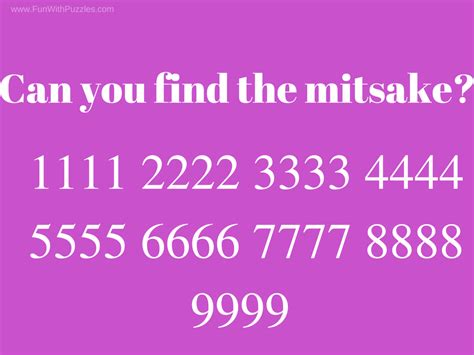 Who Find For You Can You Find The Mistake Picture Puzzles For With Answers With Puzzles