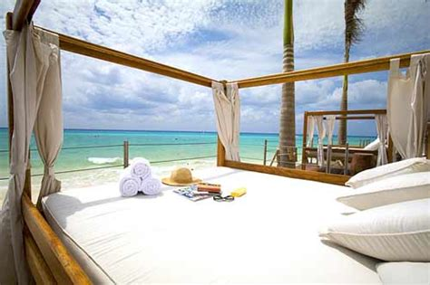 bed on the beach 5 cancun hotels for steamy romantic getaways orbitz