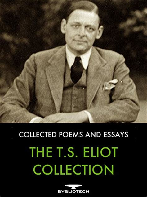 Essays On The By T S Eliot by Mini Store Gradesaver