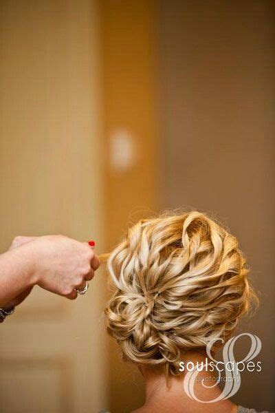 bridesmaid hairstyles curly show front and back view curly wedding updo wedding pinterest curly wedding