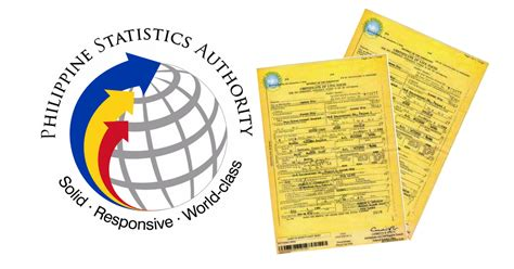 Nso Marriage Certificate Records Nso Certificates Birth Marriage Cenomar Government Ph