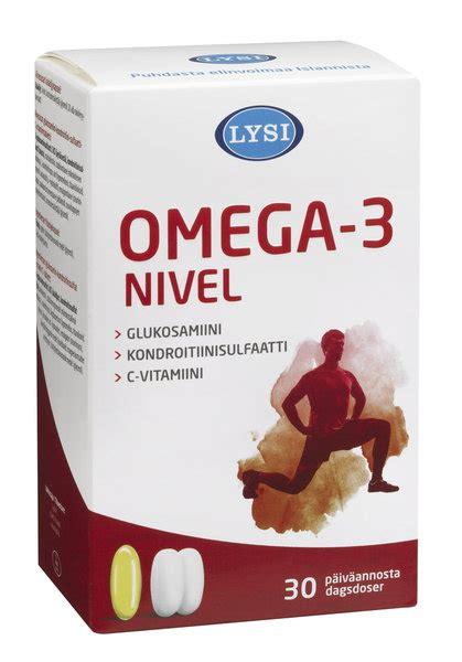 Varten 160mg lysi omega 3 nivel 30 p 228 iv 228 n annos yliopiston verkkoapteekki