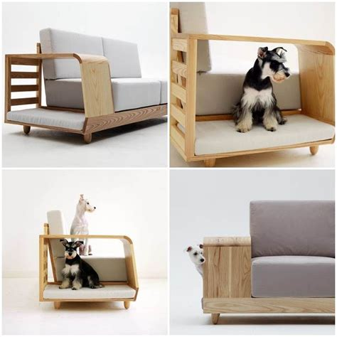 bed and couch combo combination pet bed and sofa dreamy pets pinterest