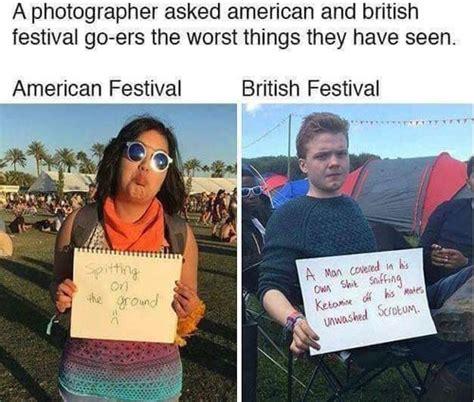 usa vs uk festivals