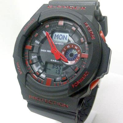 Jam Casio G Shock Ga150 Fullblack casio g shock kw g shock ga 150 kw