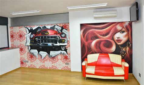 berok graffiti mural profesional en barcelona decoracion