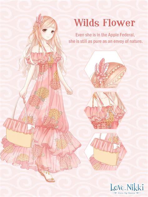wilds flower love nikki dress  queen wiki fandom