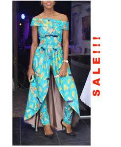 sale african clothing african print jumpsuit by
